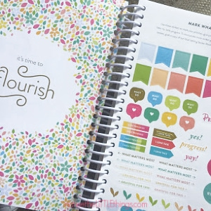 cultivate what matters goal setting notebook