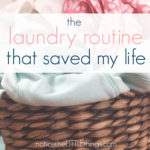 the laundry routine that saved my life