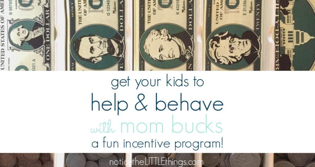 rewards for good behavior
