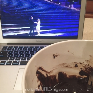 brownie batter and the bachelor