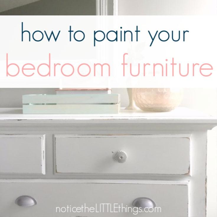 DIY furniture painting