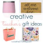 creative gift ideas for teachers