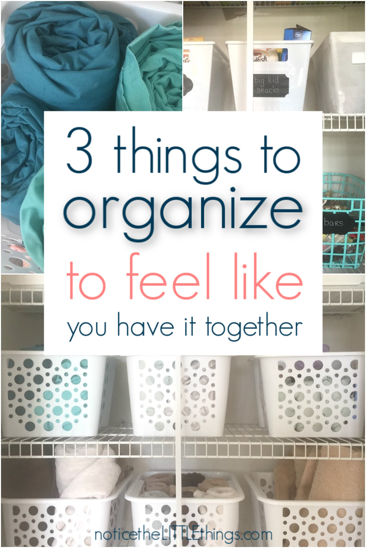 tips for an organized home