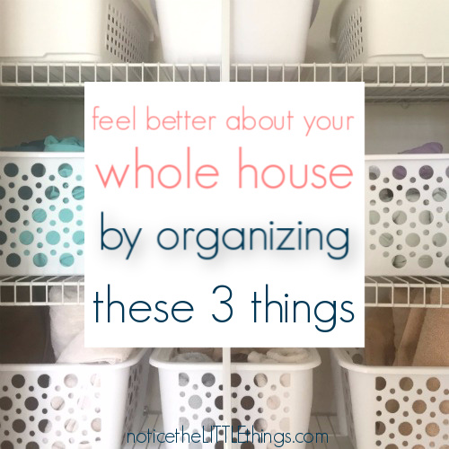 easy organizing ideas