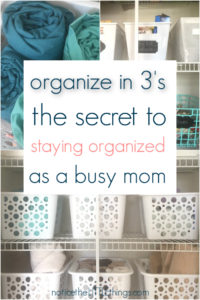 easy organizing ideas