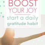 boost your mood, start a daily gratitude habit