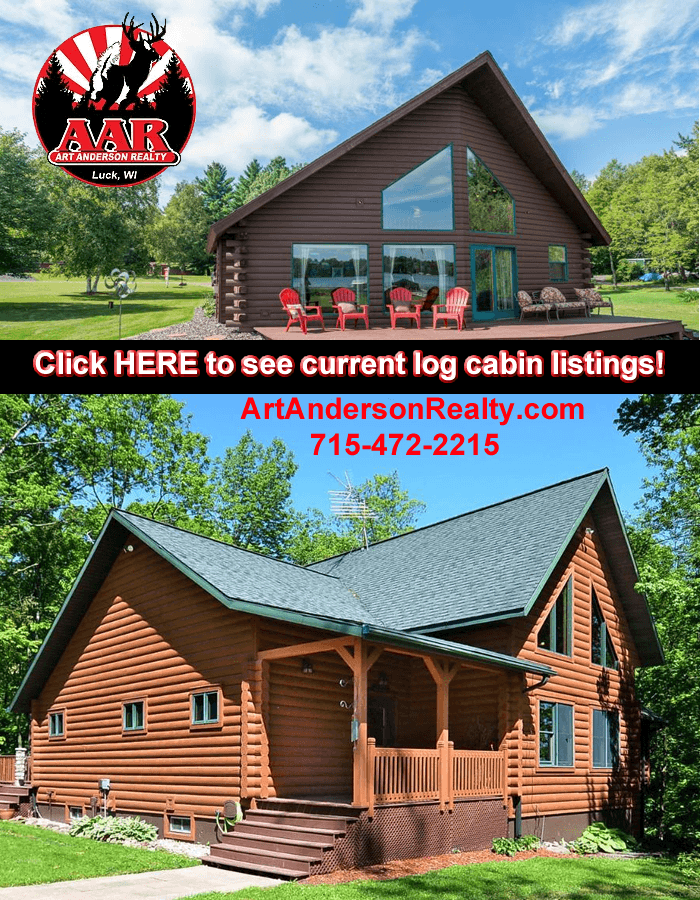 Log Cabins For Sale Polk County WI