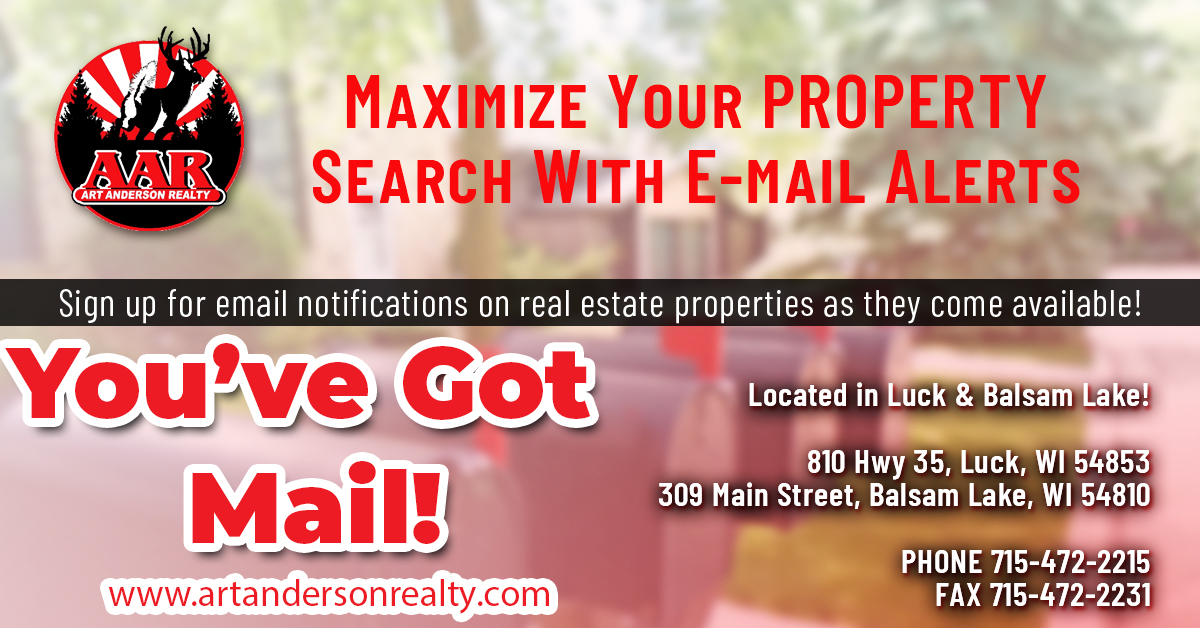 Polk County Wisconsin Property Email Notifications