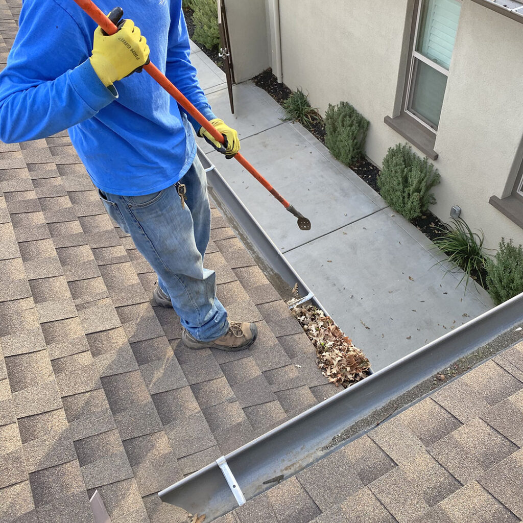 Gutter & Downspout Cleaning