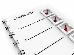 A graphic of a checklist.