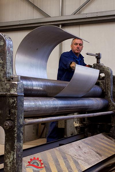 sheet metal roller machine