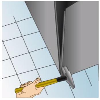 Assembling a pittsburgh seam
