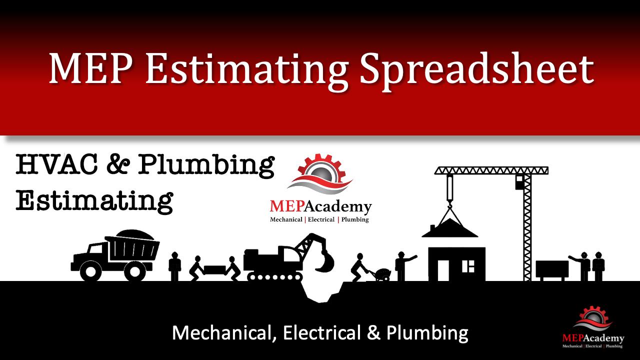MEP Construction Estimating Spreadsheet