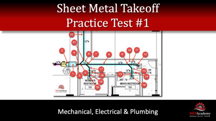Sheet Metal Practice Test 1