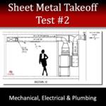 HVAC Sheet Metal Takeoff Test 2
