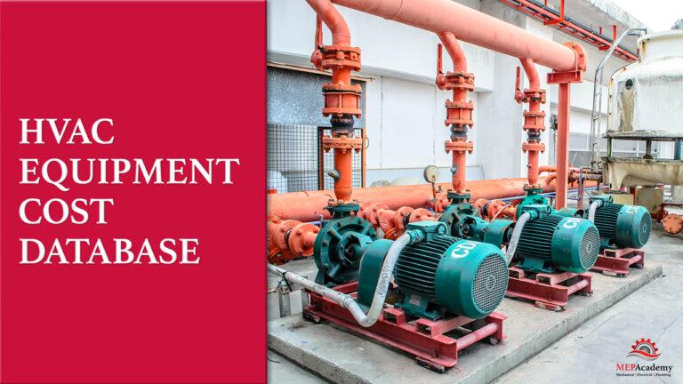 HVAC Equipment Cost Database