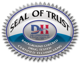 Service guarantees backed up by D&H Seal of Trust