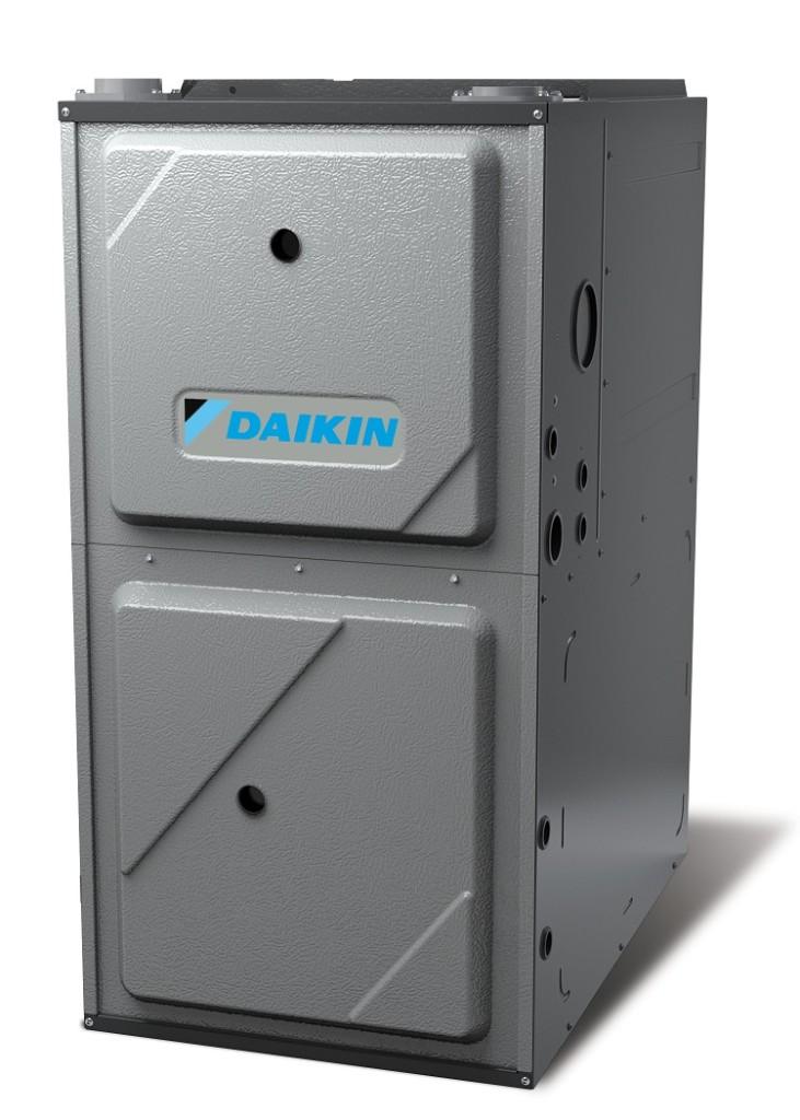 Daikin A/C Upflow RightQuarter