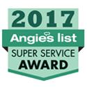 D&H AC winner Angie's List Super Service Award 2017
