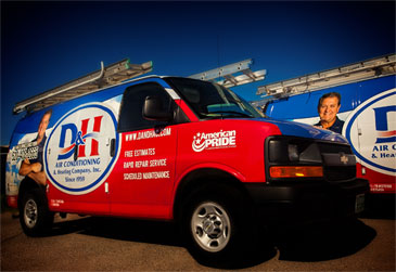 D&H Air Conditioning in Oro Valley: Our fleet on the road to repair your A/C quickly