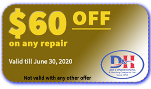 D&H AC $60 OFF coupon valid June 30 2020