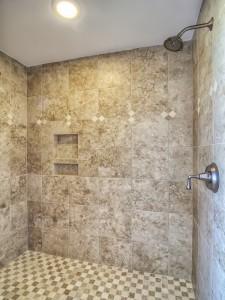 Avery Court - bathroom shower