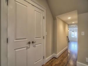 Avery Court - hallway closet door