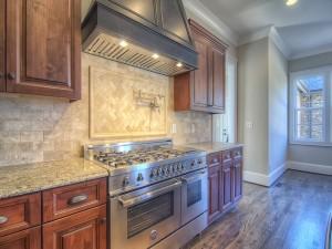 Avery Court kitchen stove