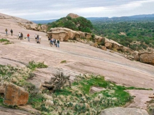 View from Enchanted Rock. 7 Places to Visit on Your Road Trip Between Austin and Kerrville