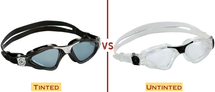 Tinted vs. Untinted Swim Goggles