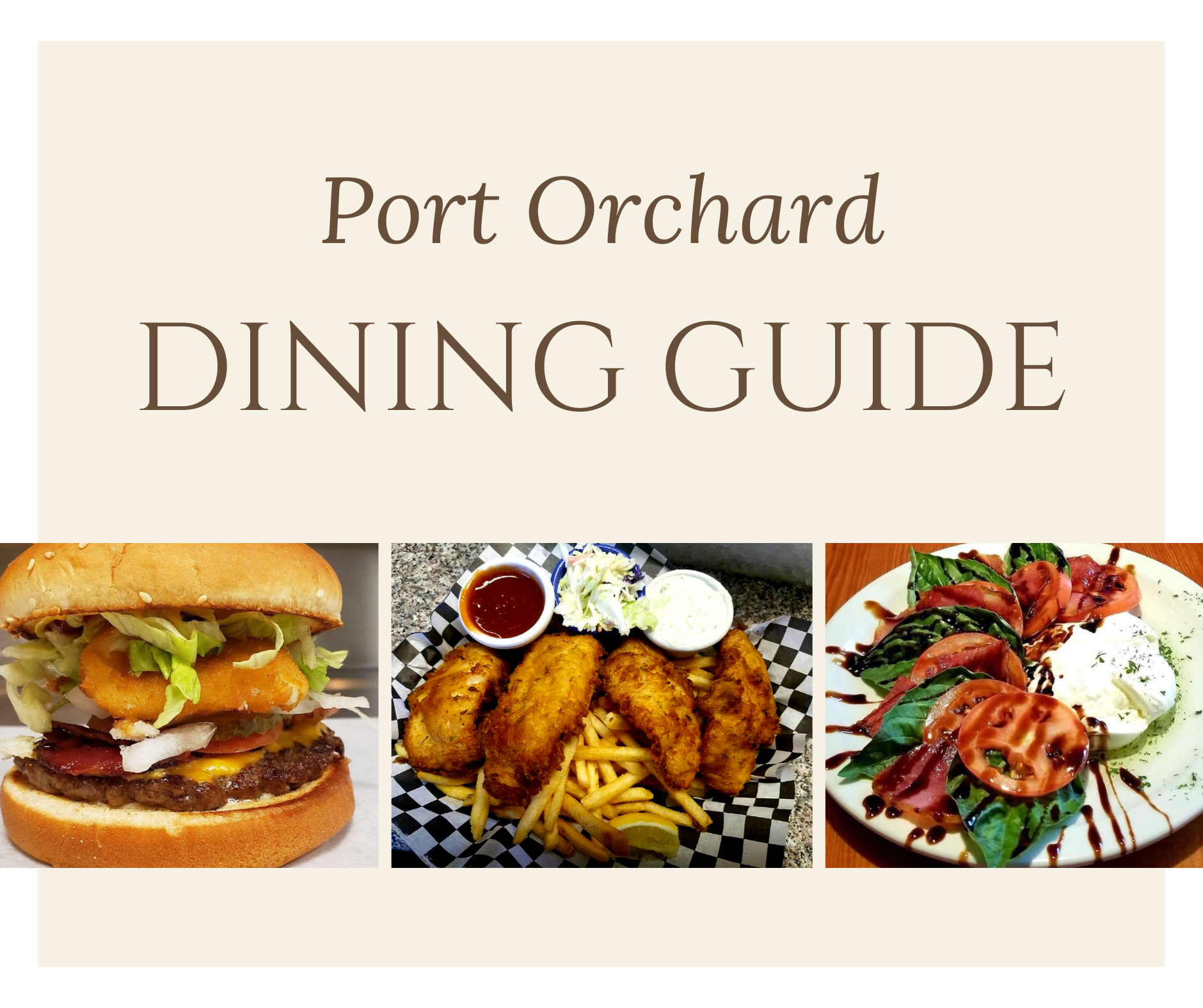 Port Orchard Dining Guide