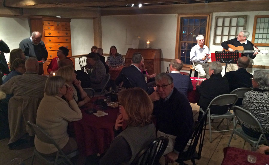 What a great, almost sold out crowd enjoyed food and music at The House