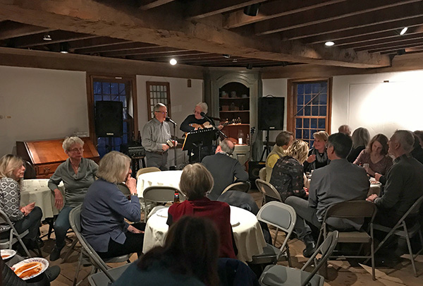 Tavern Night 2019 at the Deacon John Grave House in Madison CT