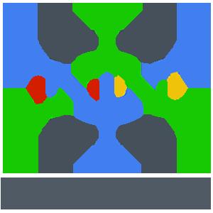 Vital chain color logo