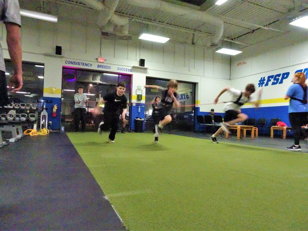 fsp elite athletes sprinting