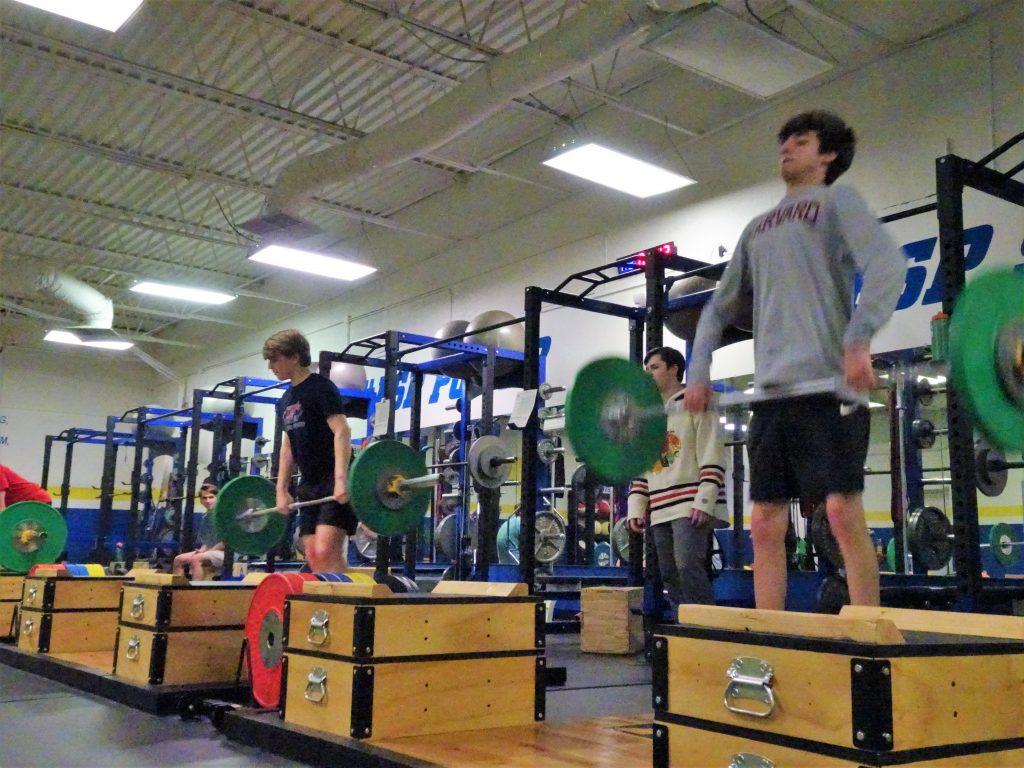 fsp premier athlete program athletes performing clean pulls