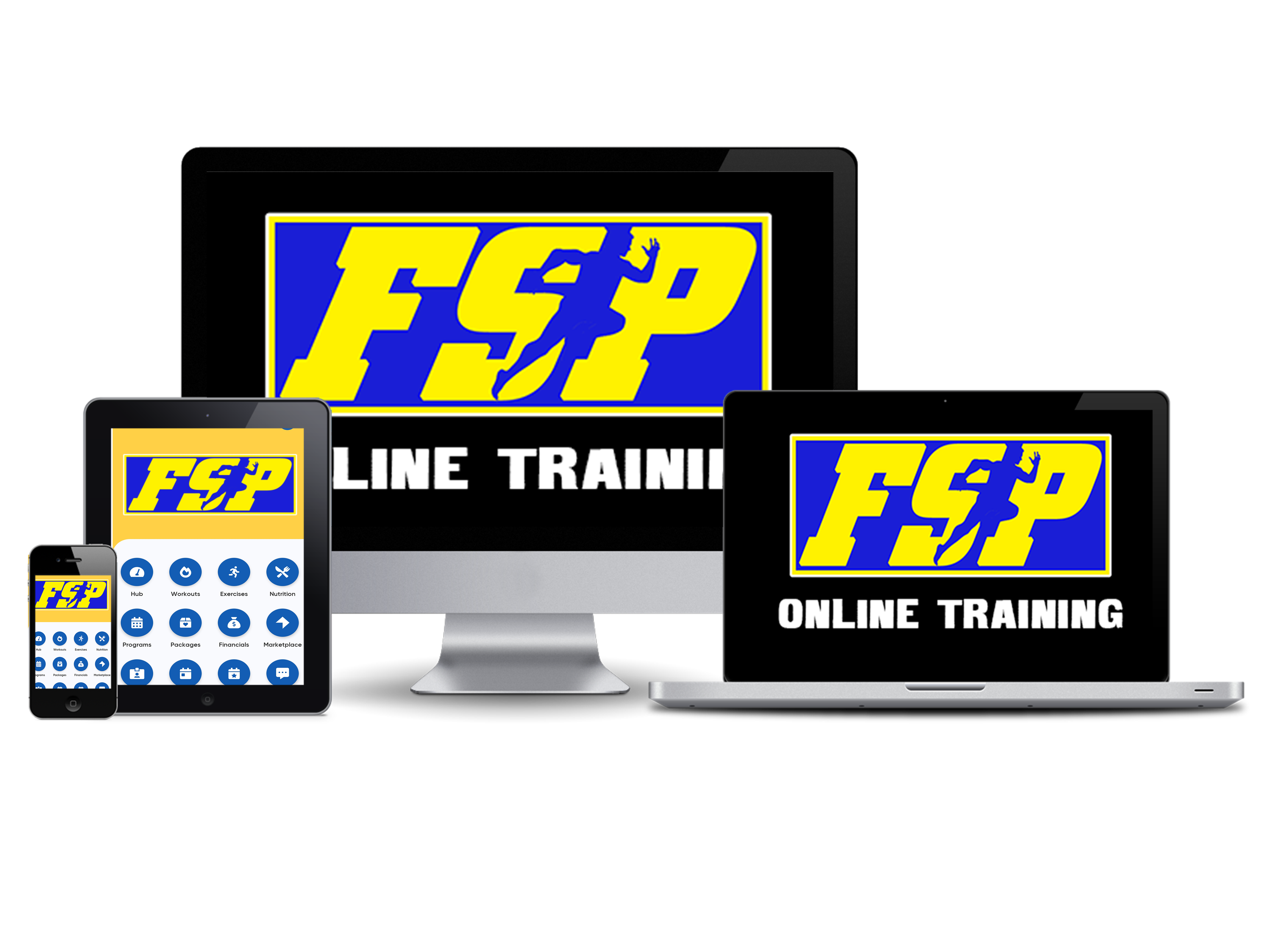 hybrid online training compatible devices image