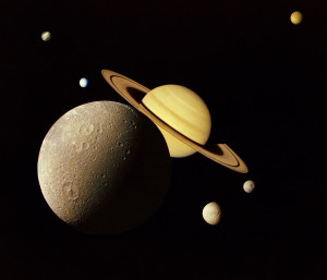 NASA image of planets in outer space.