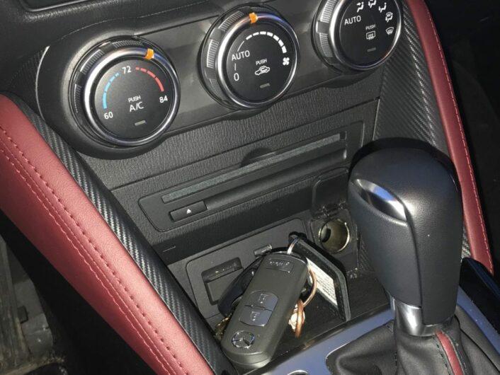 2018 Mazda CX-3 Grand Touring Interior