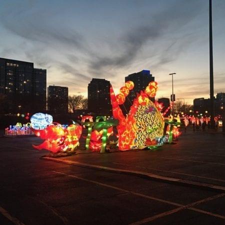 Dragon Lights Chicago