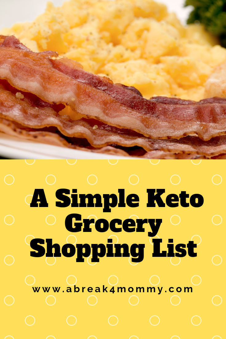 I've been following a low carb, keto diet for awhile. When done properly the body starts to burn fat for energy rather than carbohydrates. Here is an intro to the way of eating and a simple keto grocery shopping list to help you get started.