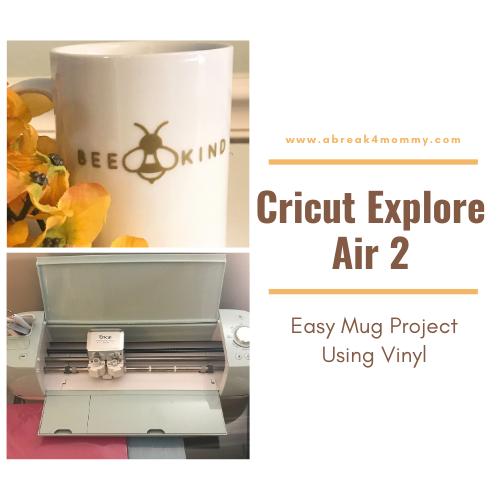 Easy Mug Project Using Vinyl