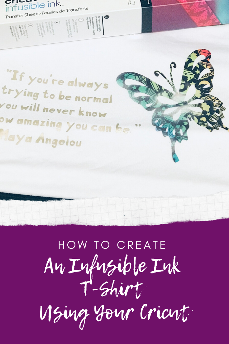 I made this Cricut Infusible Ink T-Shirt with this lovely quote by Dr. Maya Angelou for inspiration. Check out how you can design a t-shirt using Cricut Infusible Ink.