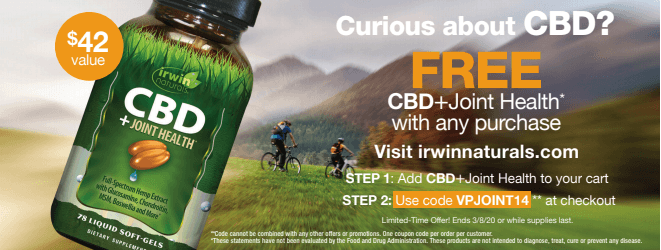 Try Irwin Naturals for Free