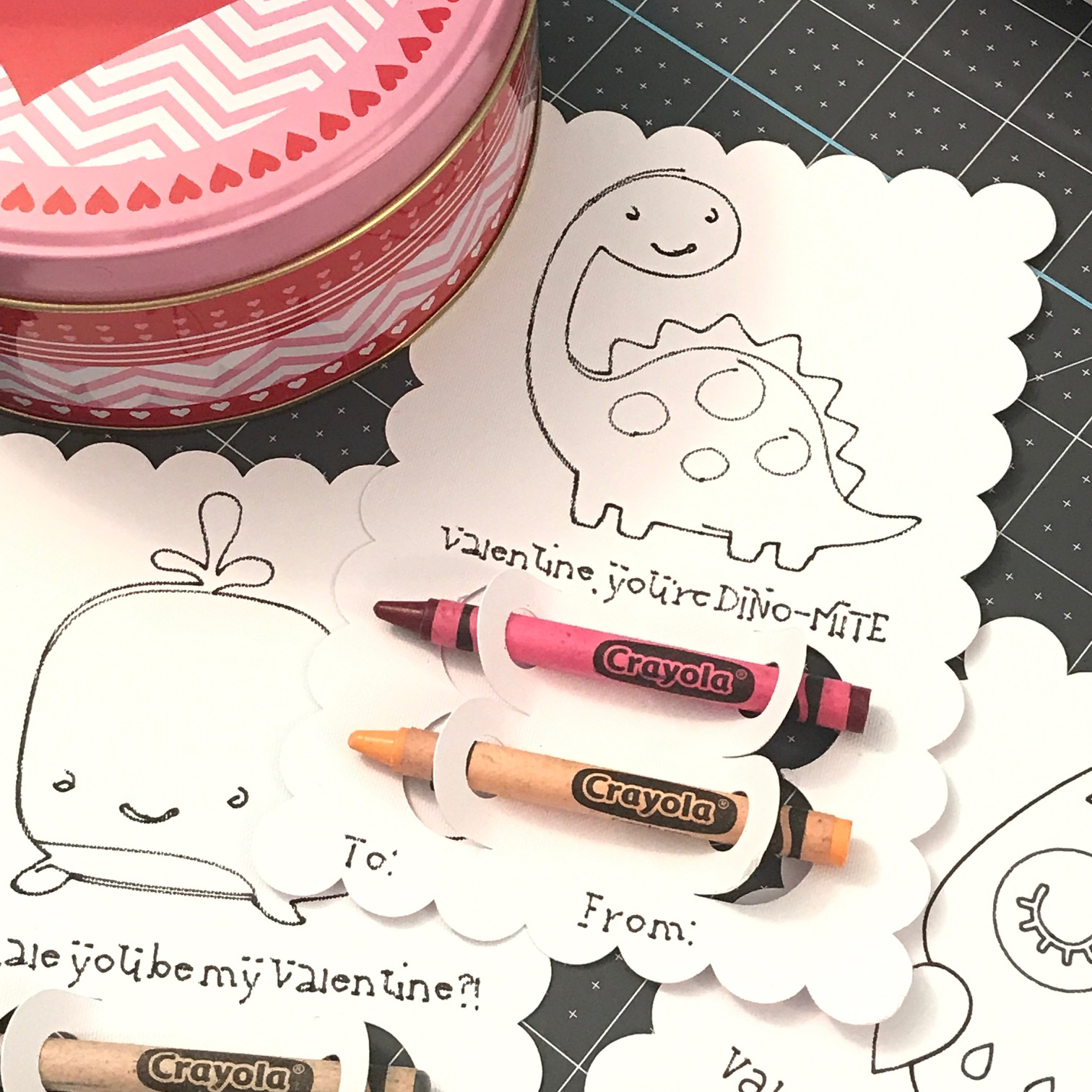 Cricut Valentines Day Cards For Kids