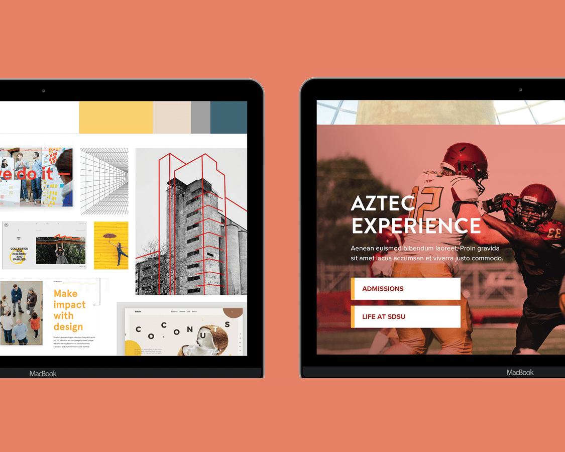 higher education web design