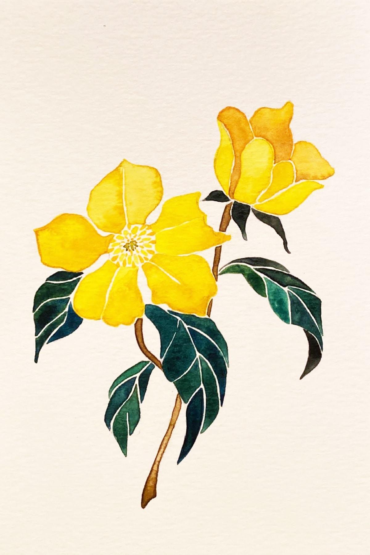 yellow flower-min