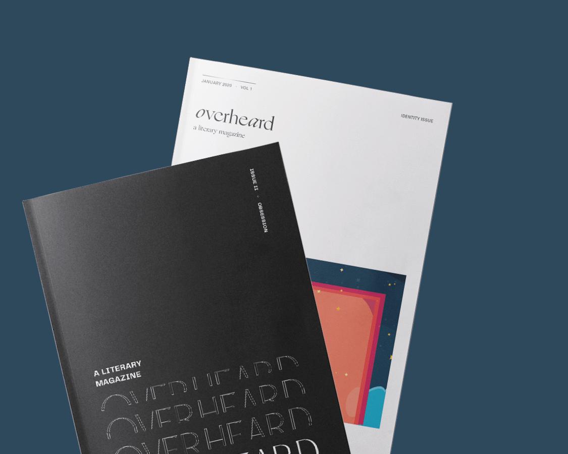 overheard: a literary magazine