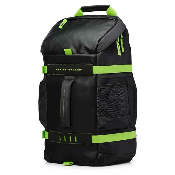 HP BackPack Odyssey Negro Verde