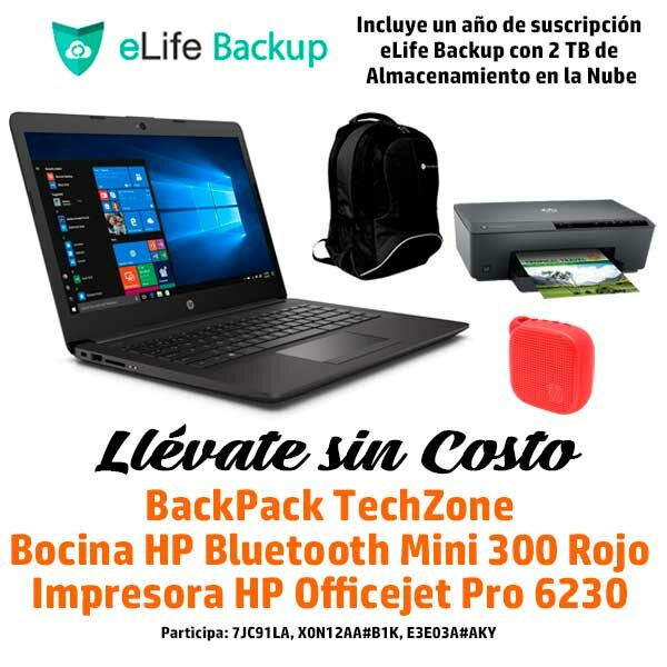 HP Notebook 240 G7 Regalos
